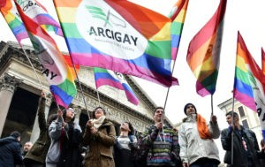 ITALY-GAY-RIGHTS-CIVIL UNION
