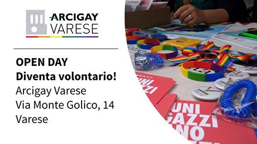 Open day Arcigay – Diventa volontario!