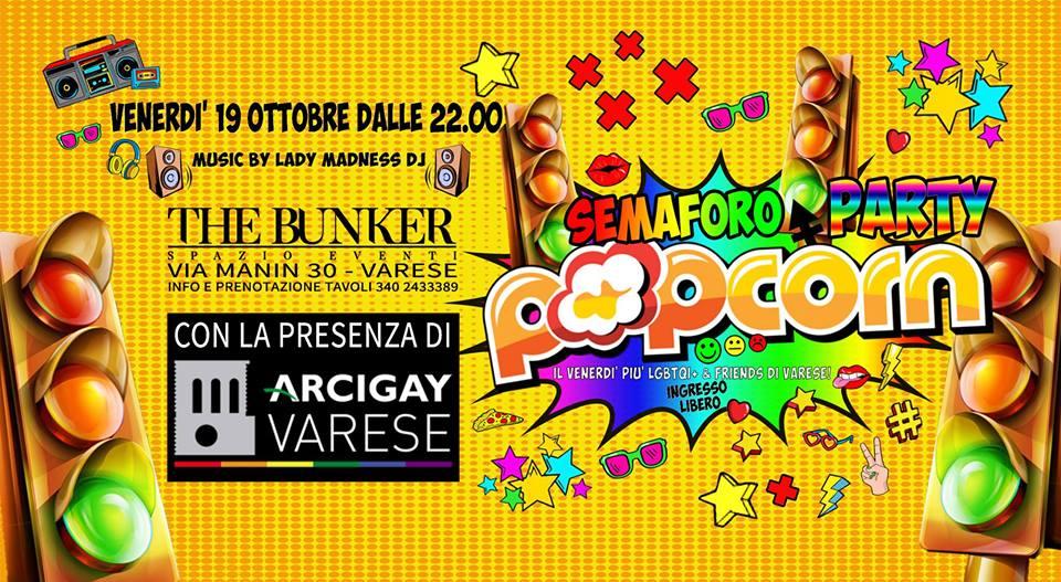 Lgbtqi+ Semaforo Party by PopCorn