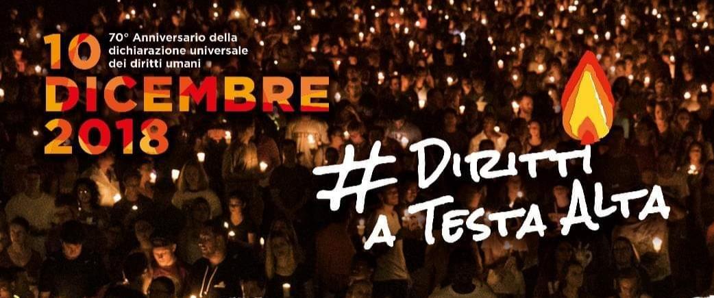 Diritti a testa alta! 10 dicembre fiaccolata per i diritti a Varese, Como e Busto Arsizio